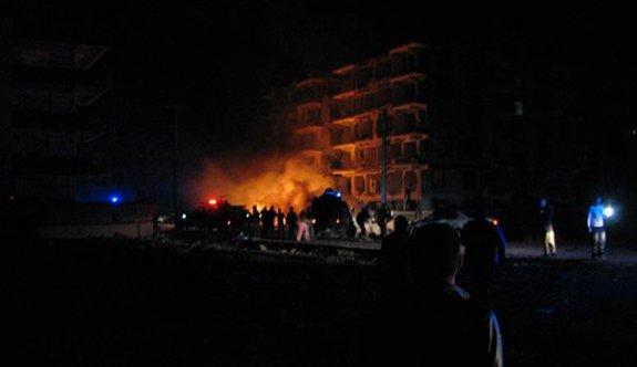 Şanlıurfa'da şiddetli patlama
