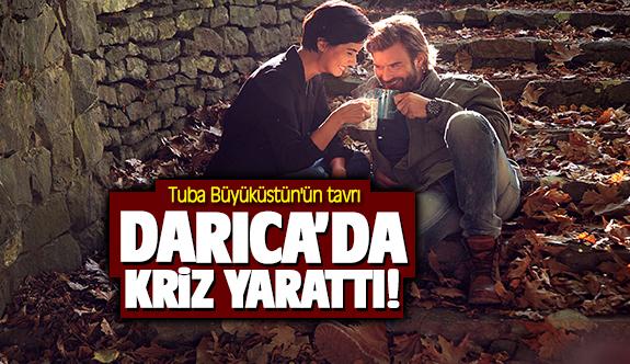 Tuba Büyüküstün'ün tavrı Darıca'da kriz yarattı!