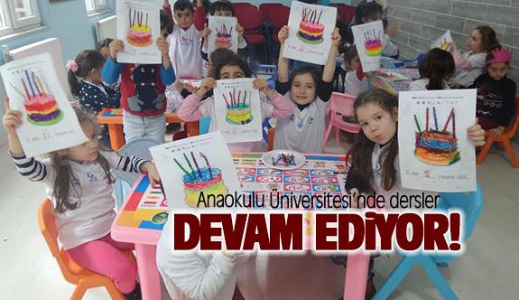 Anaokulu Üniversitesi'nde dersler devam ediyor
