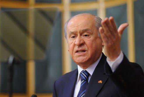 Bahçeli'den hükümete Barzani tepkisi