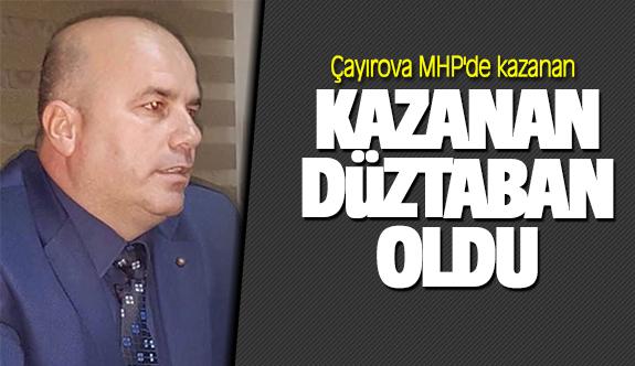Çayırova MHP'de kazanan Yunus Emre Düzdaban