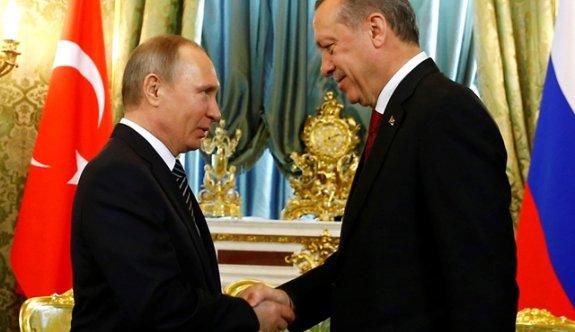 Cumhurbaşkanı Erdoğan Putin'le buluştu