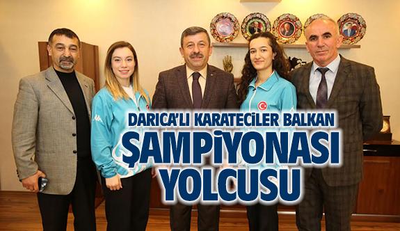 Darıcalı Karateciler Balkan Şampiyonası yolcusu