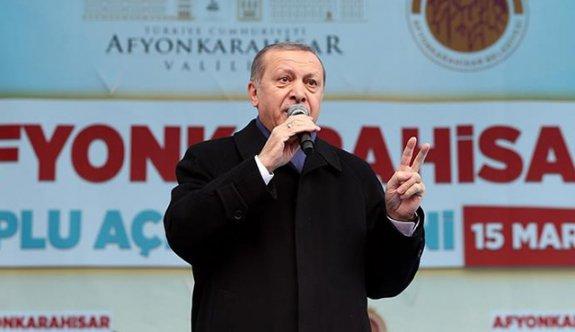 Erdoğan'ın tek sözü yetti