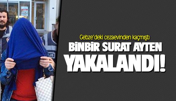 Gebze'deki cezaevinden kaçan zanlı yakalandı!