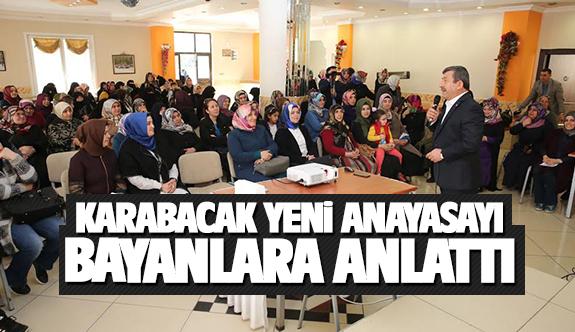 Karabacak; Çalışmalarınızla Türkiye'nin geleceğine ışık tutuyorsunuz!