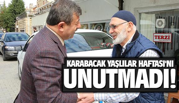 Karabacak Yaşlılar haftasını unutmadı