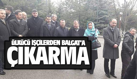 Ülkücü İşçilerden Balgat'a çıkarma