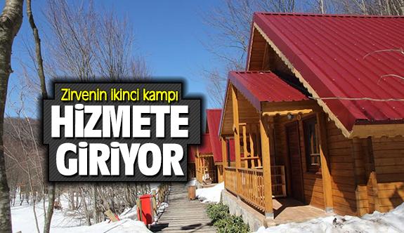 Zirvenin ikinci kampı hizmete giriyor