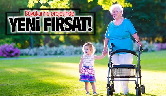 Büyükanneye maaş projesinde yeni fırsat!