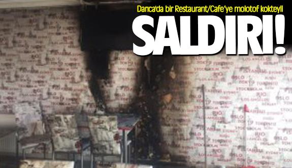 Darıca'da bir cafe'ye molotof kokteyli saldırı!