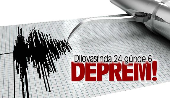 Dilovası'nda 24 günde 6 deprem!