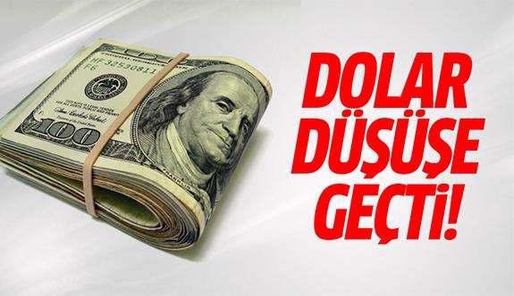 Dolarda sert düşüş! Dolar ne kadar?