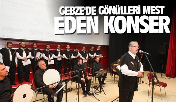 Gebze'de gönülleri mest eden konser
