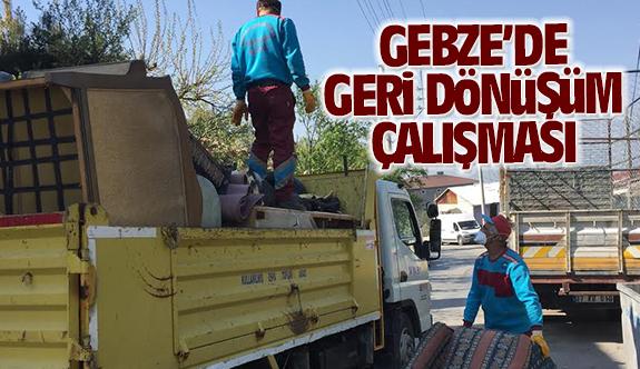 Gebze'de iri hacimli atıklar ücretsiz alınıyor