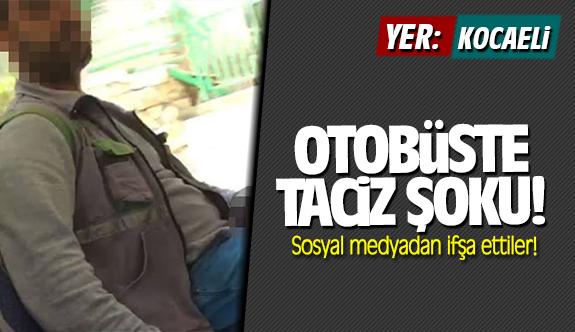 Kocaeli'de taciz şoku! Sosyal medyadan ifşa ettiler!