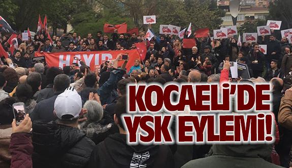 Kocaeli'de 'YSK' eylemi