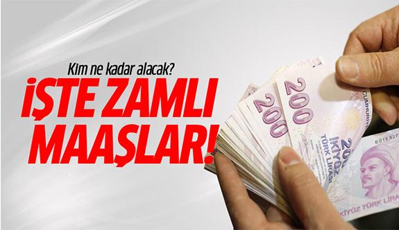 Memur zam oranları 2017-2018 Türk-İş rakam verdi