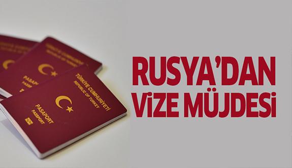 Rusya'dan vize müjdesi!