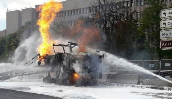 Ankara Adliyesi önünde patlama