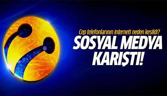 Cep telefonlarının interneti neden kesildi? Turkcell'den ilk açıklama!