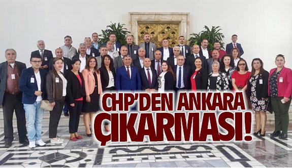 CHP'den Ankara çıkarması!