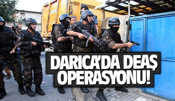Darıca'da DEAŞ operasyonu! Çok sayıda gözaltı var!
