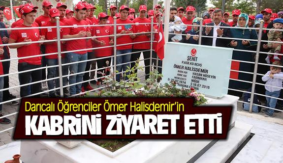 Darıcalı öğrenciler Ömer Halisdemir'in kabrini ziyaret etti!