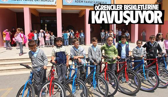Gebzeli Öğrenciler bisikletlerine kavuşuyor