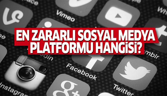 Gençlere en çok zarar veren sosyal medya platformu açıklandı