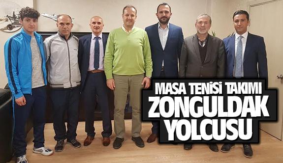 Masa Tenisi Takımı Zonguldak yolcusu