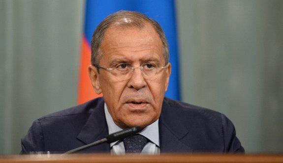 Lavrov: Suriye'nin karası da havası da dar gelmeye başladı