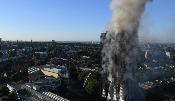 Londra'da 24 katlı binada yangın! İlk can kaybı açıklandı: En az 6 ölü
