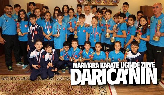 Marmara Karate Liginde zirve Darıca'nın