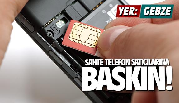 Polis sahte telefon satıcılarına baskın yaptı!