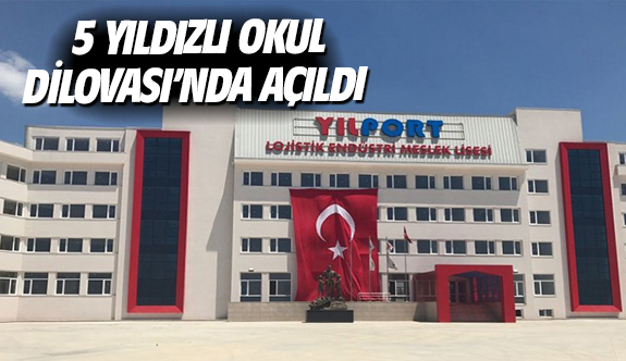 5 yıldızlı okul Dilovası'nda açıldı