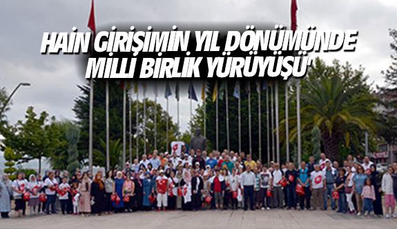 Hain girişimin yıl dönümünde 'Milli Birlik Yürüyüşü'