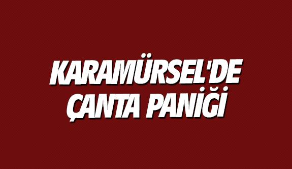 Karamürsel'de çanta paniği