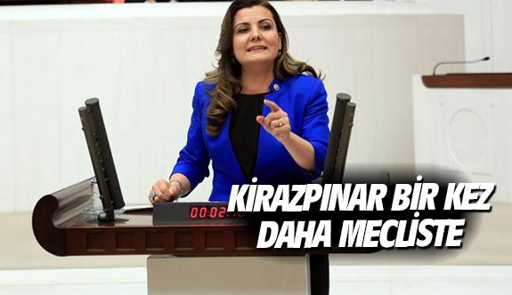 Kirazpınar bir kez daha mecliste