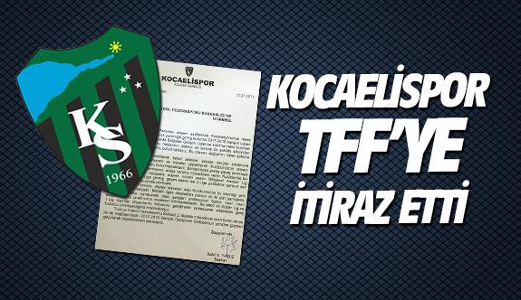 Kocaelispor TFF'ye itiraz etti
