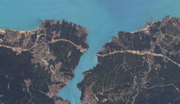 Yerli uydu İstanbul'u görüntüledi