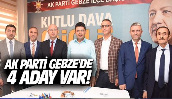 AK Parti Gebze'de 4 aday var!