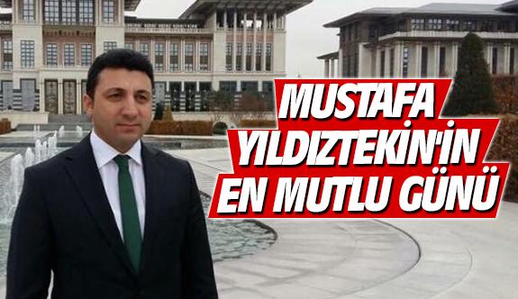 Mustafa Yıldıztekin'in en mutlu günü
