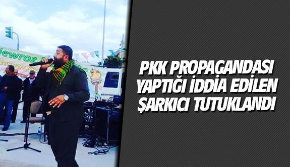 PKK propagandası yaptığı iddia edilen şarkıcı tutuklandı