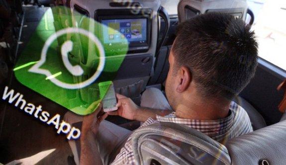 """Yolcu otobüslerine """"WhatsApp""""lı denetim"""