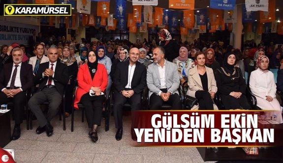 Karamürsel'de Gülsüm Ekin Yeniden Başkan