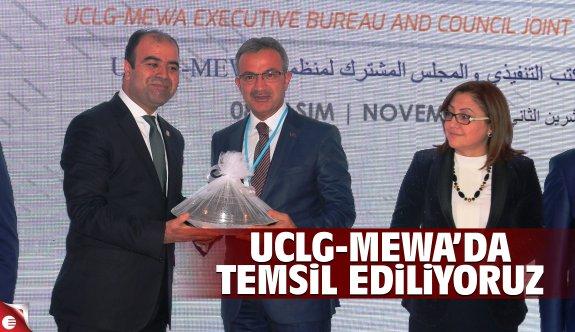 Köşker, UCLG-MEWA'da Gebze'yi temsil ediyor