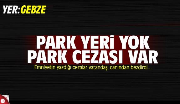 Park cezaları vatandaşı canından bezdirdi!