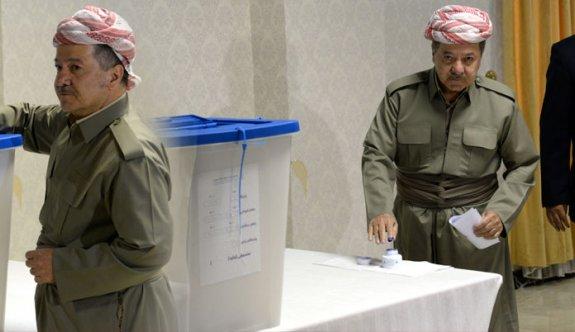 Ve kritik referandum başladı!.. Barzani oyunu kullandı!