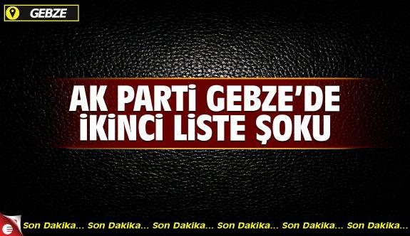AK Parti Gebze'de ikinci liste sinyali geldi!